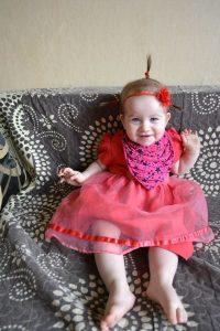 Gegužės 11 d. Miglė atšventė 1-erių metų gimtadienį