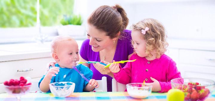 Ką valgyti vaikui